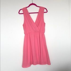 Everly Coral Summer Dress